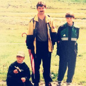Sohn Pascal, Vater Reinhard und Sohn Marcel Pomper