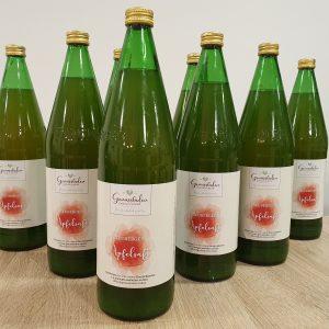 naturtrüber Apfelsaft in 1 Liter Flaschen